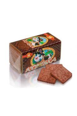 Печенье шоколадное Коровка