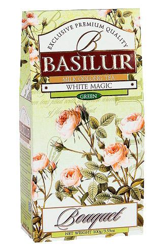 Чай Basilur, зеленый и молочный улун, 100г. с доставкой по Словении