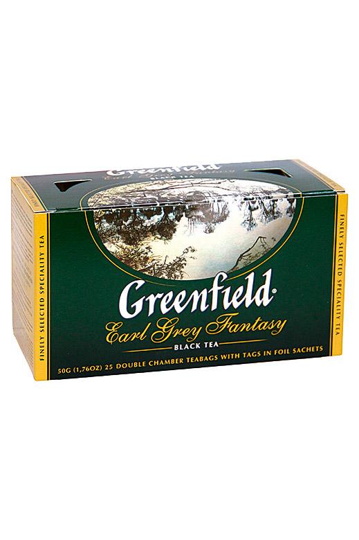 Čaj Earl Grey Fantasy iz Cejlona, TM Greenfield, 25/2g. z dostavo v Sloveniji