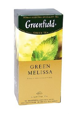 Чай Гринфилд, Green Melissa, 25/2г.
