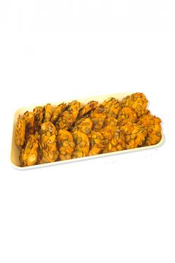 Песочное печенье с тыквенными семечками