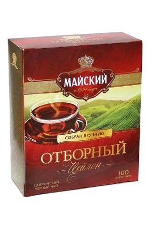 Čaj črni ceylonski Prvovrsten TM Majski, 100kos/2g. z dostavo v Sloveniji