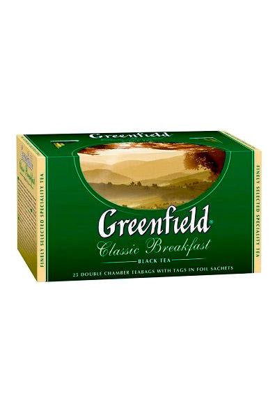 Чай Гринфилд, Classik Breakfast, 25/2г. с доставкой по Словении