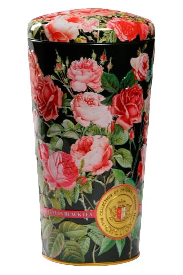 Чай Chelton, ваза Розы, черный с лепестками и фруктами, 150г. с доставкой по Словении