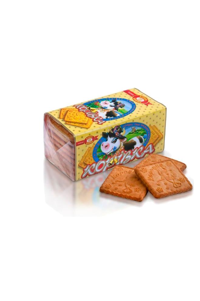 Печенье Коровка со вкусом топленого молока, 180г. с доставкой по Словении