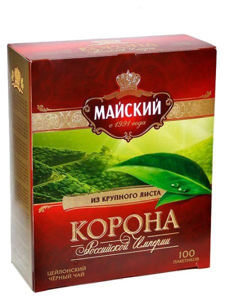 Чай Майский, Корона Российской Империи
