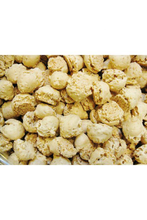 Миниатюрное безе с арахисом