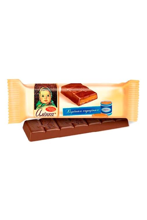Čokoladica Aljonka s karamelnim nadevom, 48g. z dostavo v Sloveniji