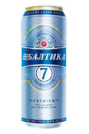 Пиво Балтика №7, 1л.
