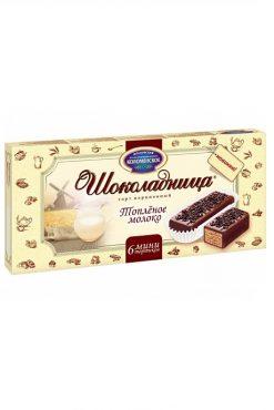 Вафельный торт Шоколадница Топленое молоко