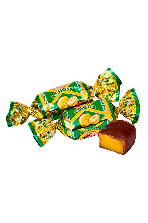 Čokoladni bonboni Citron, na vago, Rusija z dostavo v Sloveniji