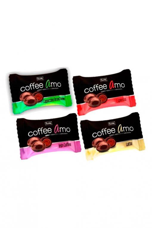 Конфеты с кофе CoffeeAmo. Продажа в Словении, Хорватии, Австрии