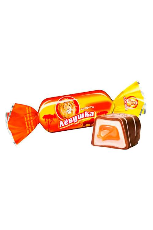 Bonboni Levuška s karamelo, na vago, Rusija z dostavo v Sloveniji