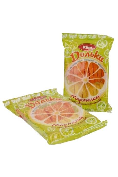 Мармелад Лимонно-Апельсиновые дольки, 240г. с доставкой по Словении
