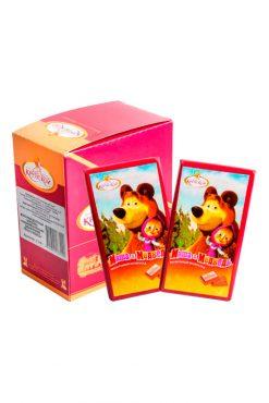 Молочный шоколад Маша и Медведь, 90г.