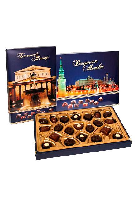 Вечерняя Москва, шоколадное ассорти, Польша, 165г. с доставкой по Словении