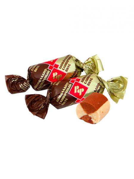 Батончики Рот Фронт с шоколадно-сливочным вкусом.