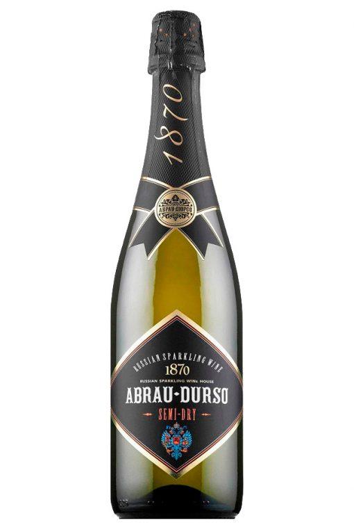 Шампанское Abrau Durso, полусухое, 0,75л