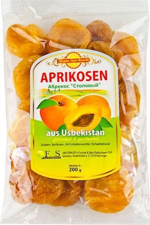 Sušene Marelice brez koščic Uzbekistan, 200g z dostavo v Sloveniji