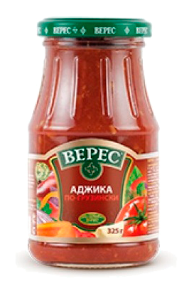 Аджика по-грузински, 325г. Украина с доставкой по Словении