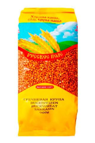 Гречка, Русское поле, 900г. Россия с доставкой по Словении