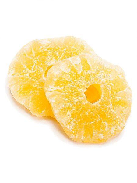 Сушеные кольца ананаса