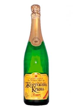 Шампанское Жемчужина Крыма, сухое