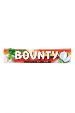 Батончик Bounty, темный шоколад