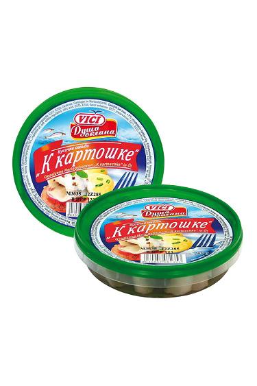 File slanika v olju TM VICI, K Kartoshke, 200g. z dostavo v Sloveniji