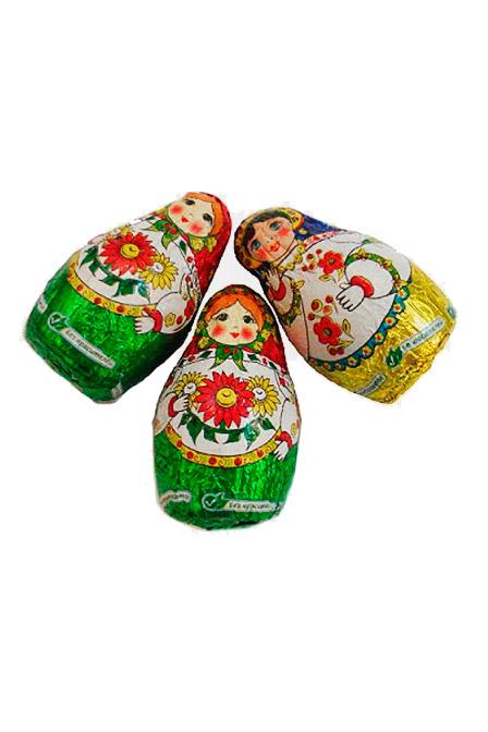 Bonboni Ksjusha s kondenziranim mlekom, na vago, Rusija z dostavo v Sloveniji