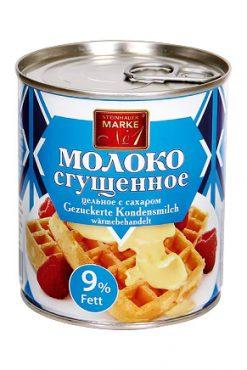 Сгущенное молоко, 9% жирности