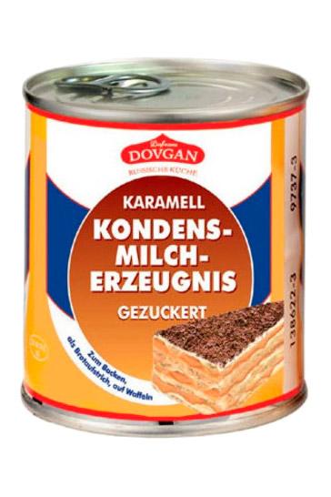 Zgoščeno kuhano mleko Dovgan, 367g. Nemčija z dostavo v Sloveniji