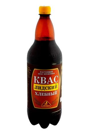 Квас Лидский хлебный, 1,5л. Белоруссия с доставкой по Словении