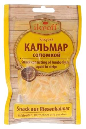 Lignje sušene in slane, TM Ikroff, 36g. z dostavo v Sloveniji
