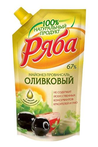 Майонез Ряба Оливковый