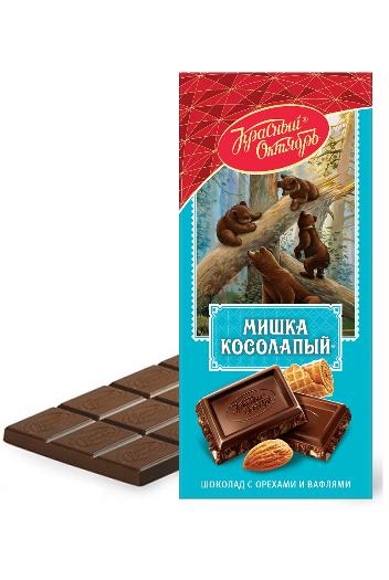 Čokolada Medvedek hlačman, 75g. Rusija z dostavo v Sloveniji