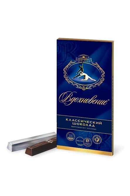 Čokolada Navdih z lešniki, 100g., Rusija z dostavo v Sloveniji