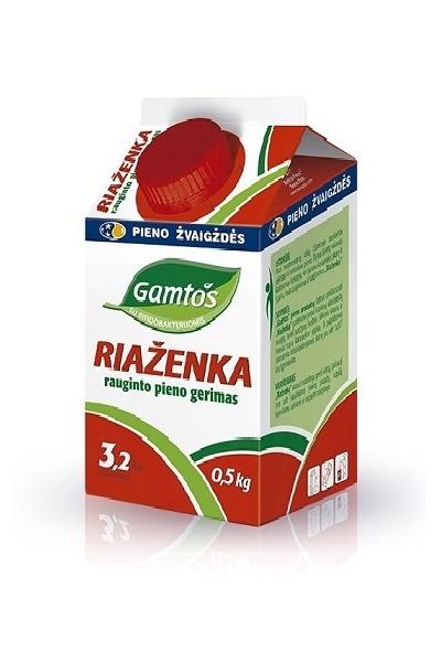 Ряженка, 3,2% жирности