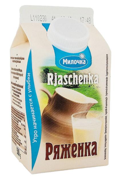 Rjaženka Miločka, 3,5% maščobe, 500ml. z dostavo v Sloveniji