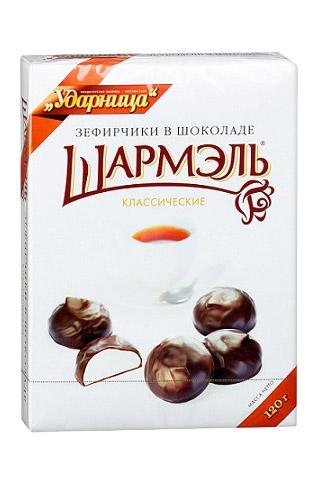 """Зефир """"Шармель"""" в шоколаде, 120г.  с доставкой"""