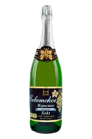 """Шампанское """"Советское"""", 0,75л"""