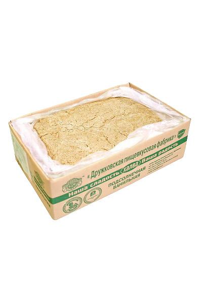 Халва развесная ванильная, товар весовой с доставкой по Словении