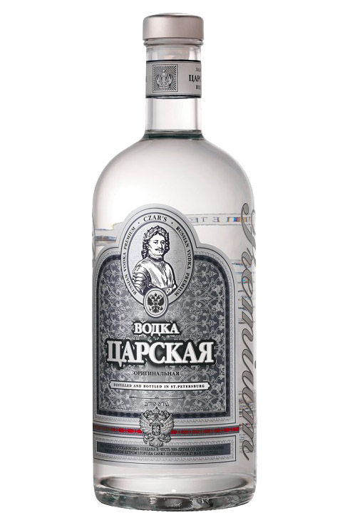 Водка Царская отборная, 0,5л., Россия с доставкой по Словении