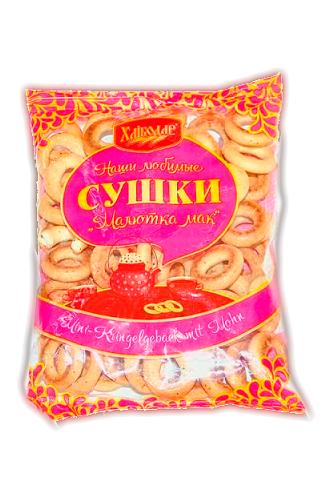 Сушки с маком Малютка мак, Украина, 270г. с доставкой по Словении