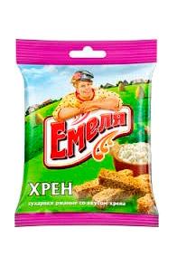 Krekerji s okusom hrene, Emelja, 40g. z dostavo v Sloveniji