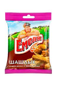 Krekerji s okusom mesa na žaru, Emelja, 40g. z dostavo v Sloveniji