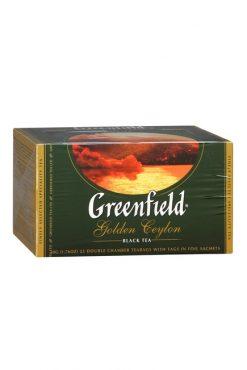 Чай Гринфилд, Golden Ceylon, 25х2г.