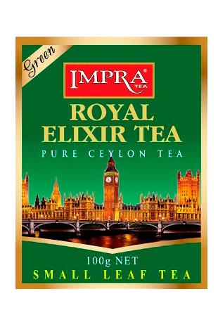 Зеленый крупнолистовой чай IMPRA