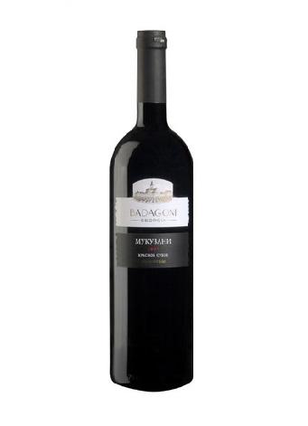 Вино Mukuzani красное сухое грузинское, 0,75л. с доставкой по Словении