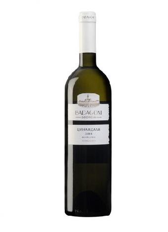Вино Цинандали, белое сухое, 0,75л. Грузия с доставкой по Словении